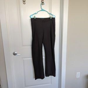Eileen Fisher Black Stretch Slacks